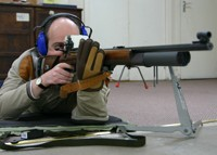 prone rifle